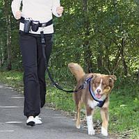Тrixie Waist Belt with Leash ремень поясной с поводком