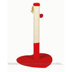 Когтеточка-столбик Валентинка для кошек ТМ Природа 38х40х66см