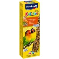 Vitakraft Krаcker крекер для маленьких африканских попугаев с медом, 2шт