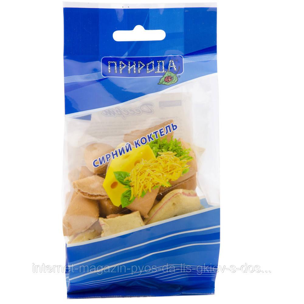Природа Сирний коктейль ласощі-печиво для собак, 100г