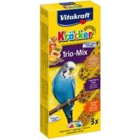 Vitakraft Krаcker крекер для волнистых попугаев с медом, фруктами и яйцом, 3шт