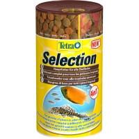 Tetra Selection 4in1 смесь 4-х видов корма для рыб разной среды обитания, 250мл