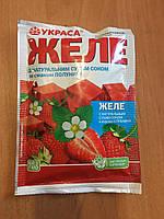 Желе Украса КЛУБНИКА  с натуральным соком