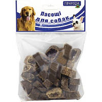 Природа Печенье с мясом натуральное лакомство для собак, 100г