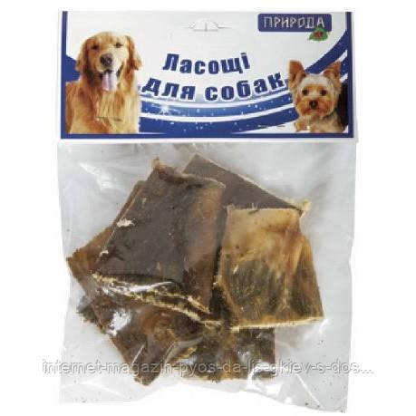 Природа Рубец говяжий натуральное лакомство для собак, 50г