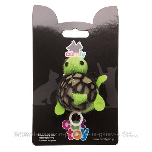 Aquael Comfy SHAKE TURTLE игрушка для кошек черепашка 8,5см