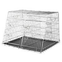 Тrixie Wire Crate Galvanized Double клетка двойная для автоперевозок для собак 93х68х79см (TX-3930)