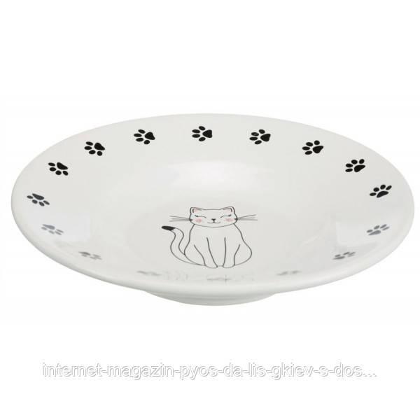 Trixie Keramiknapf миска керамическая для котов брахицефалов 0,2л