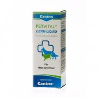 Canina Petvital Derm-Liquid тоник для проблемной кожи и шерсти, 25мл