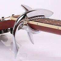 Каподастр для гитары ALICE SHARK GC-02 SILVER