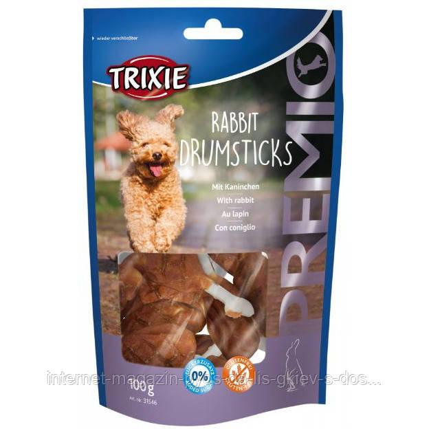 Trixie PREMIO Rabbit Drumsticks лакомство для собак с кроликом, 100г
