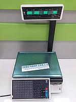 Весы с чекопечатью DIGI SM 100 P CS однострочный индикатор, кассетный принтер (RS232, Ethernet), фото 1
