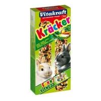 Vitakraft Kracker лакомство-крекеры Овощные для кроликов, 2шт