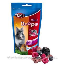 Trixie Mini Drops wild berries лакомство для грызунов Дикие ягоды, 75г
