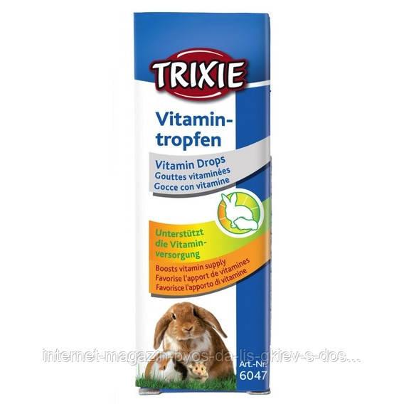 Trixie Vitamintropfen витаминные капли для грызунов, 15мл