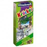 Vitakraft Kracker лакомство-крекеры для шиншилл с травами, 2шт