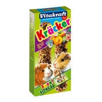 Vitakraft Kracker лакомство-крекеры для морских свинок с фруктами, 2шт