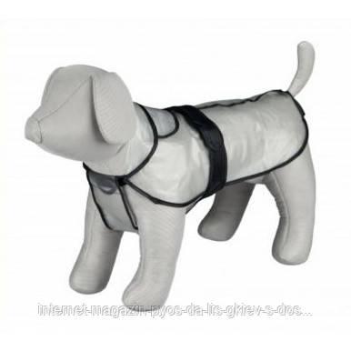 Тгіхіе Tarbes Raincoat L прозорий дощовик для собак 55см