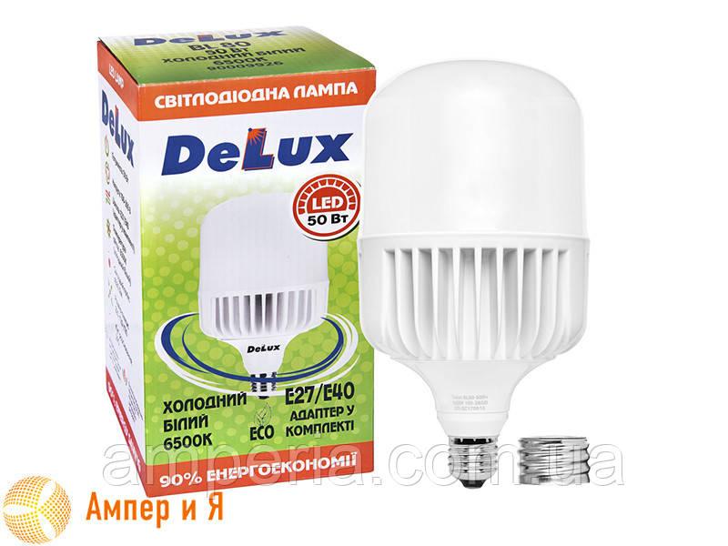 Лампа светодиодная BL 80 50w E27 6500K DELUX