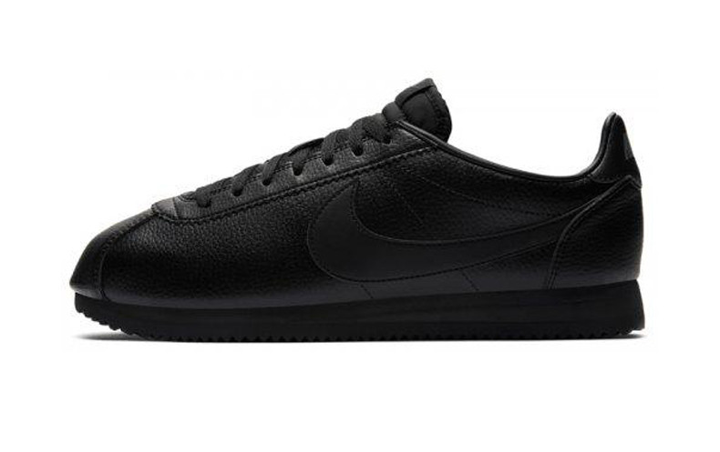 2c23b201ec03fe Оригинальные кроссовки Nike Classic Cortez Leather Triple Black (ART.  749571 002)