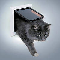 Trixie 4-Wege Freilauftur XL дверца для кошки 4 позиции с тоннелем (3867)