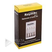 Устройство для зарядки Ni-Cd и Ni-MH Raymax RM115 АА и ААА, 4х канальное, индикатор работы, белый