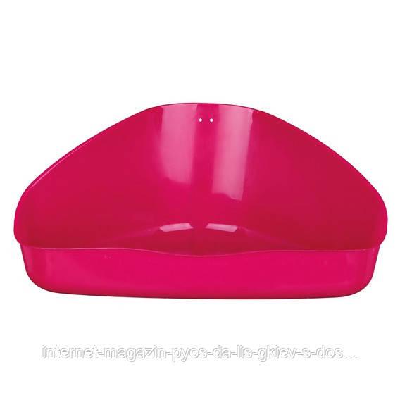 Trixie Corner Toilet туалет угловой для грызунов 16х7х12см