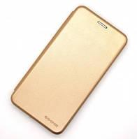 "Чехол-книжка на телефон Huawei P Smart Plus ""G-case"" gold"