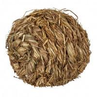Trixie Grass Ball травяной шарик с колокольчиком для грызунов 10см