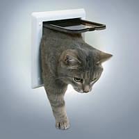 Trixie 2-Wege Freilauftur дверца для кошки 2 позиции (3860)