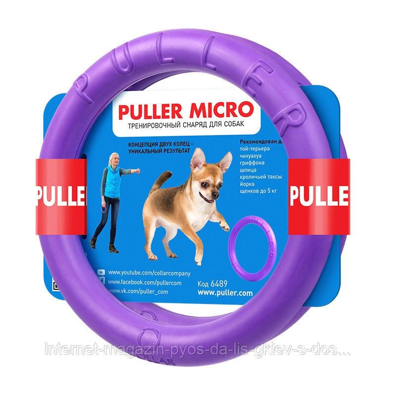 Collar PULLER Micro тренировочный снаряд для собак мелких пород 12.5х1.5см, 2шт.