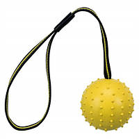 Trixie Sporting Ball аппортировочный мяч для собак желтый 7см