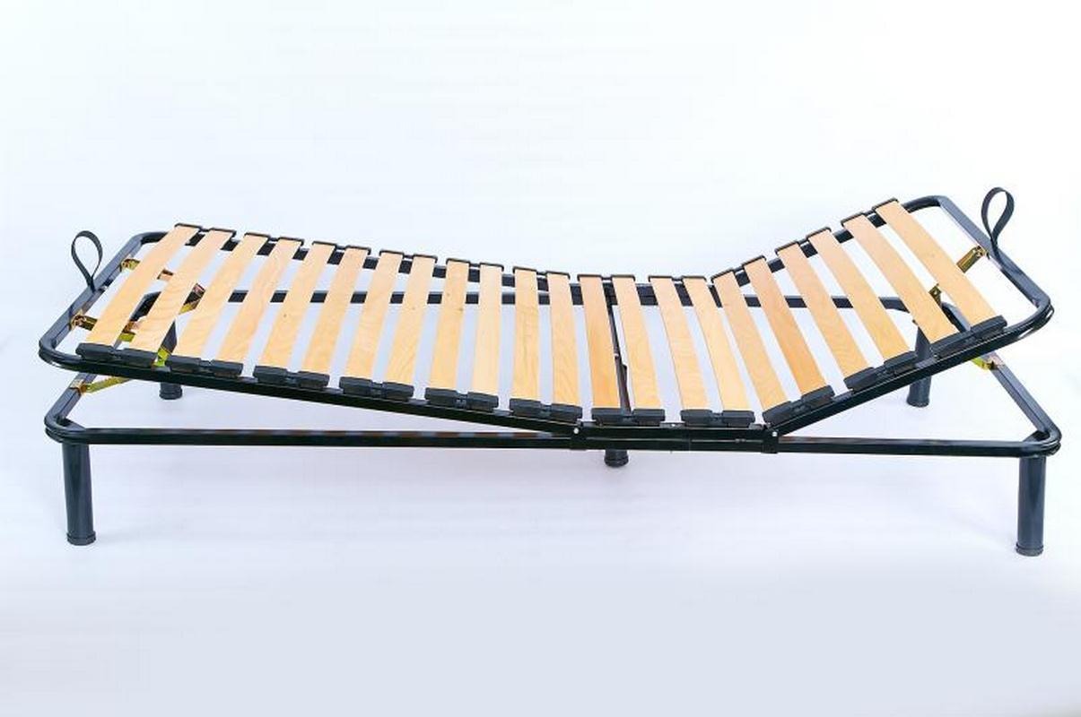 Основание кровати с регулируемыми опорами - ширина 80 см