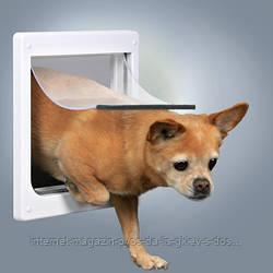 Врезная дверца для собаки 2 позиции Трикси Trixie для кошек и собак мелких пород (25 х 29 см)