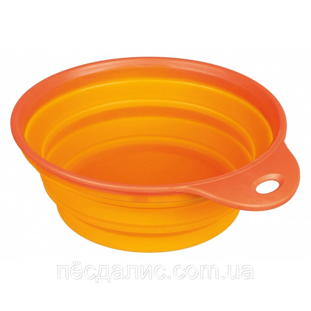 Trixie Travel Bowl Silicone силиконовая миска для путешествий 1л, 18см