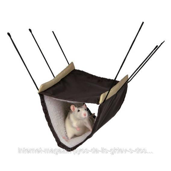 Гамак двухярусный для грызуновTrixie Hammock with 2 Storeys 22х15х30см