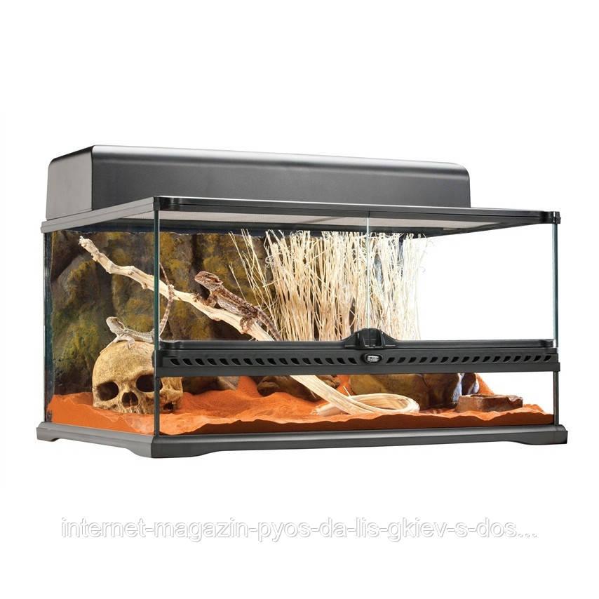Hagen Exo Terra Natural Terrarium-Advanced Reptile Habitat, Low тераріум 60х45х30см