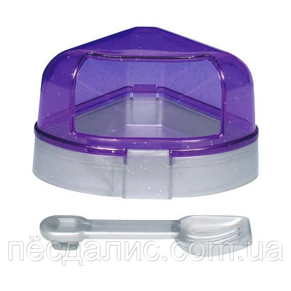 Trixie Corner Toilet with Roof туалет угловой с крышкой для грызунов 14х8х11см