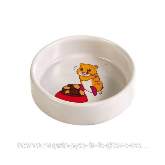 Trixie Ceramic Bowl миска керамічна для гризунів 90мл