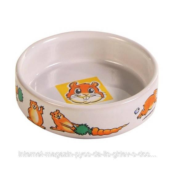 Trixie Ceramic Bowl миска керамическая для хомяков 90мл