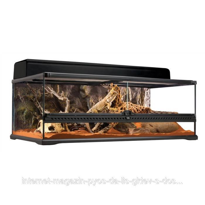Hagen Exo Terra Natural Terrarium-Advanced Reptile Habitat, Low  террариум 90х45х30см