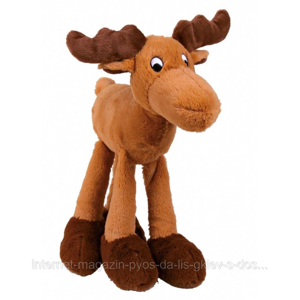 Trixie Elk Plush игрушка для собак Лось плюшевый 30см