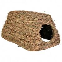 Trixie Grass House травяной домик для грызунов 18х13х28см