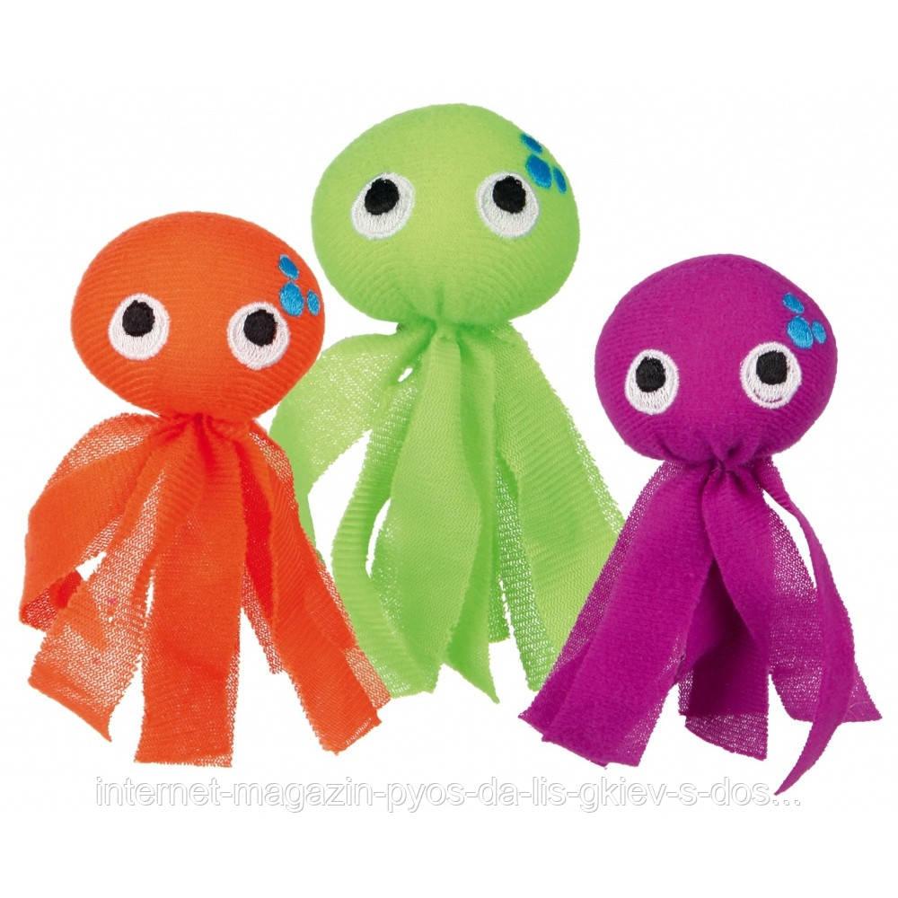 Trixie Octopus fabric игрушка для кошки Осьминог тканевый 11см