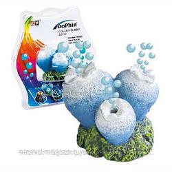 KW Dophin Декор Коралл с распылителем для аквариума