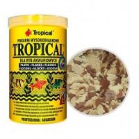 Tropical хлопьевидный корм с высоким содержанием белка для всех видов рыб, 100мл
