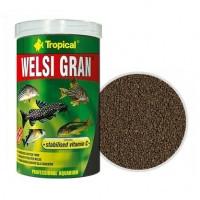 Tropical WELSI GRAN тонущие гранулы для донных рыб, 5л