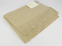 Плотный, нежный кашемировый шарф, палантин Sky Cashmere 7080-11 бежевый