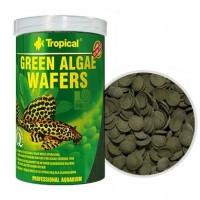 Tropical GREEN ALGAE WAFERS рослинні потопаючі чіпси для риб водорослеедов, 250мл