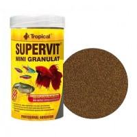Tropical SUPERVIT MINI GRANULAT мини-гранулы для всех видов маленьких рыб, 10г (сашетка)